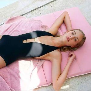 $220 Tory Burch one piece swimsuit Gemini black